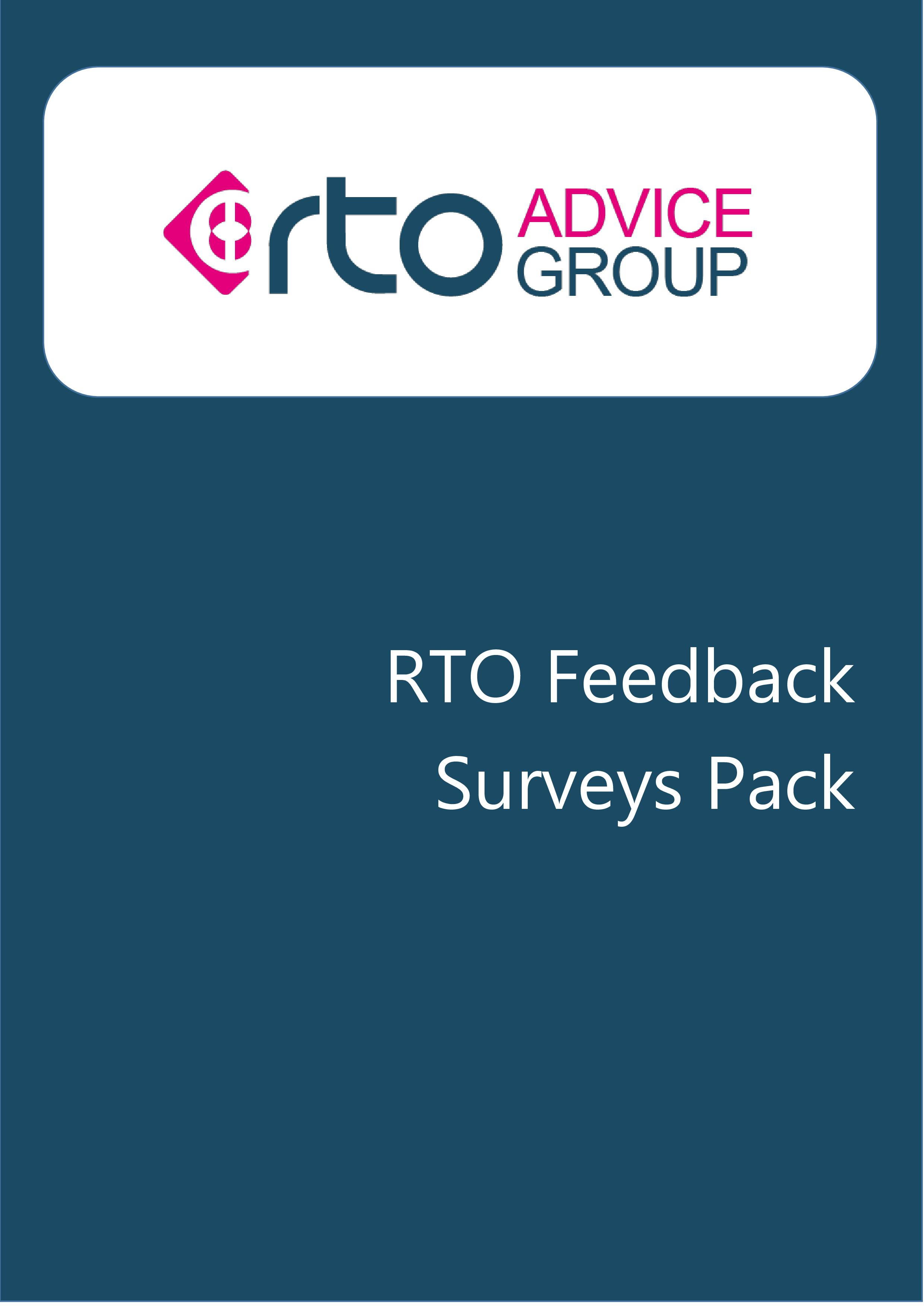 RTO Feedback Surveys Pack