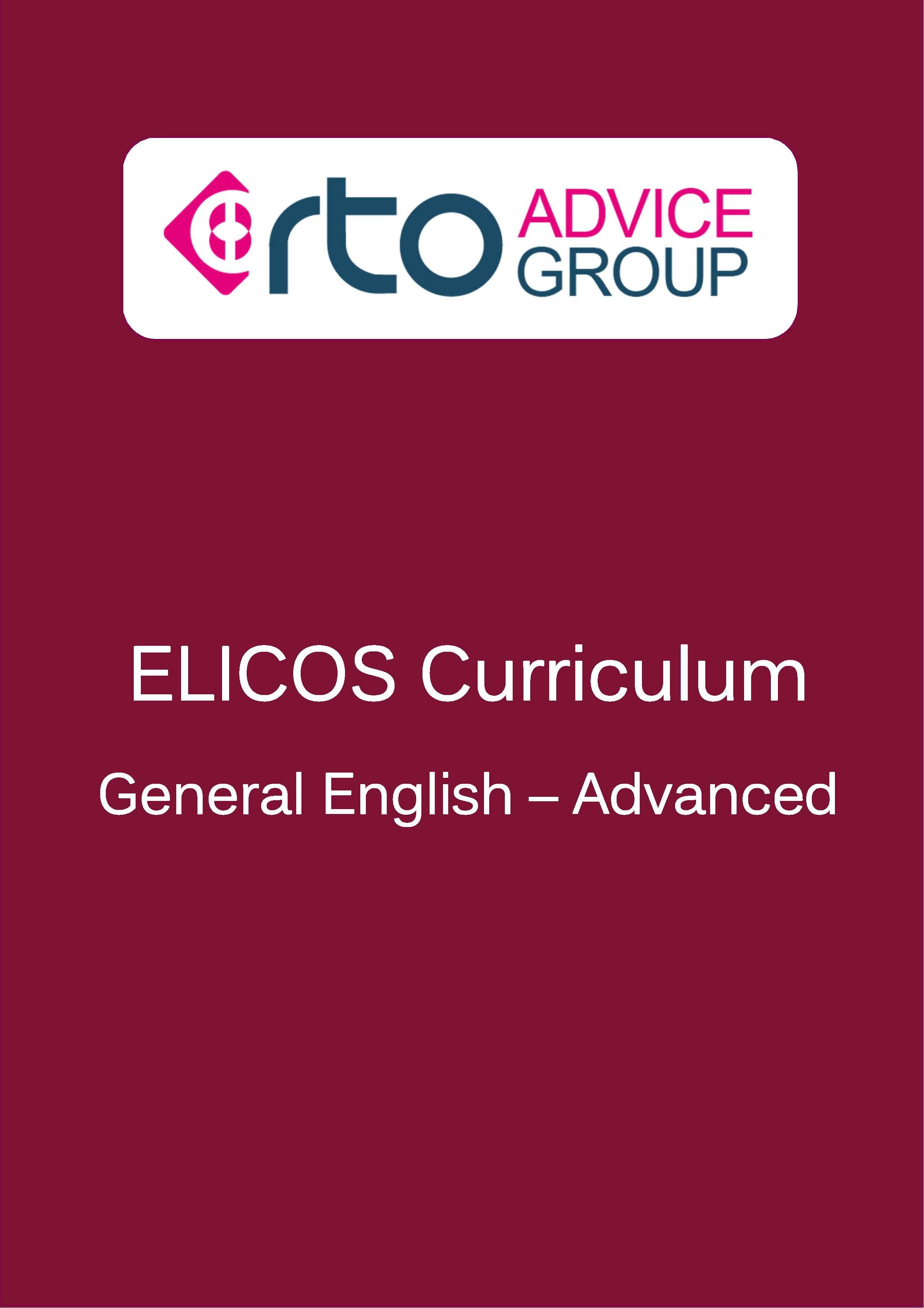ELICOS Curriculum – General English Advanced