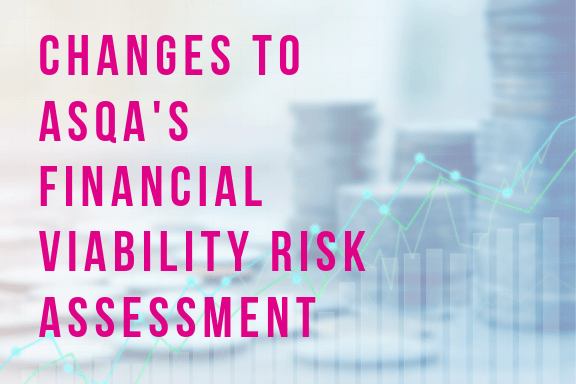ASQA's new Financial Viability Risk Assessment (FVRA) Tool