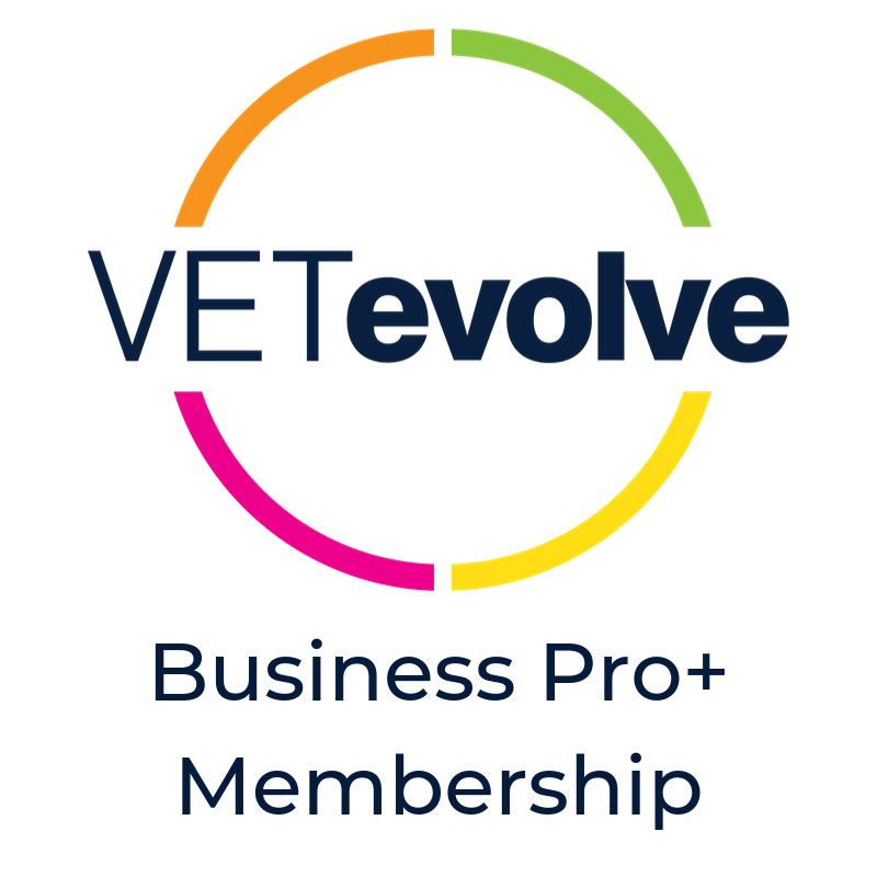 VETevolve Business Pro+ Membership