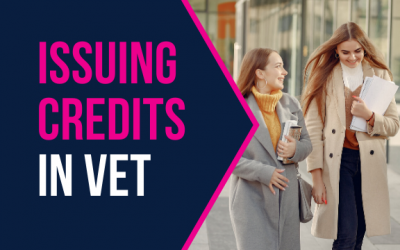 Issuing Credits in VET
