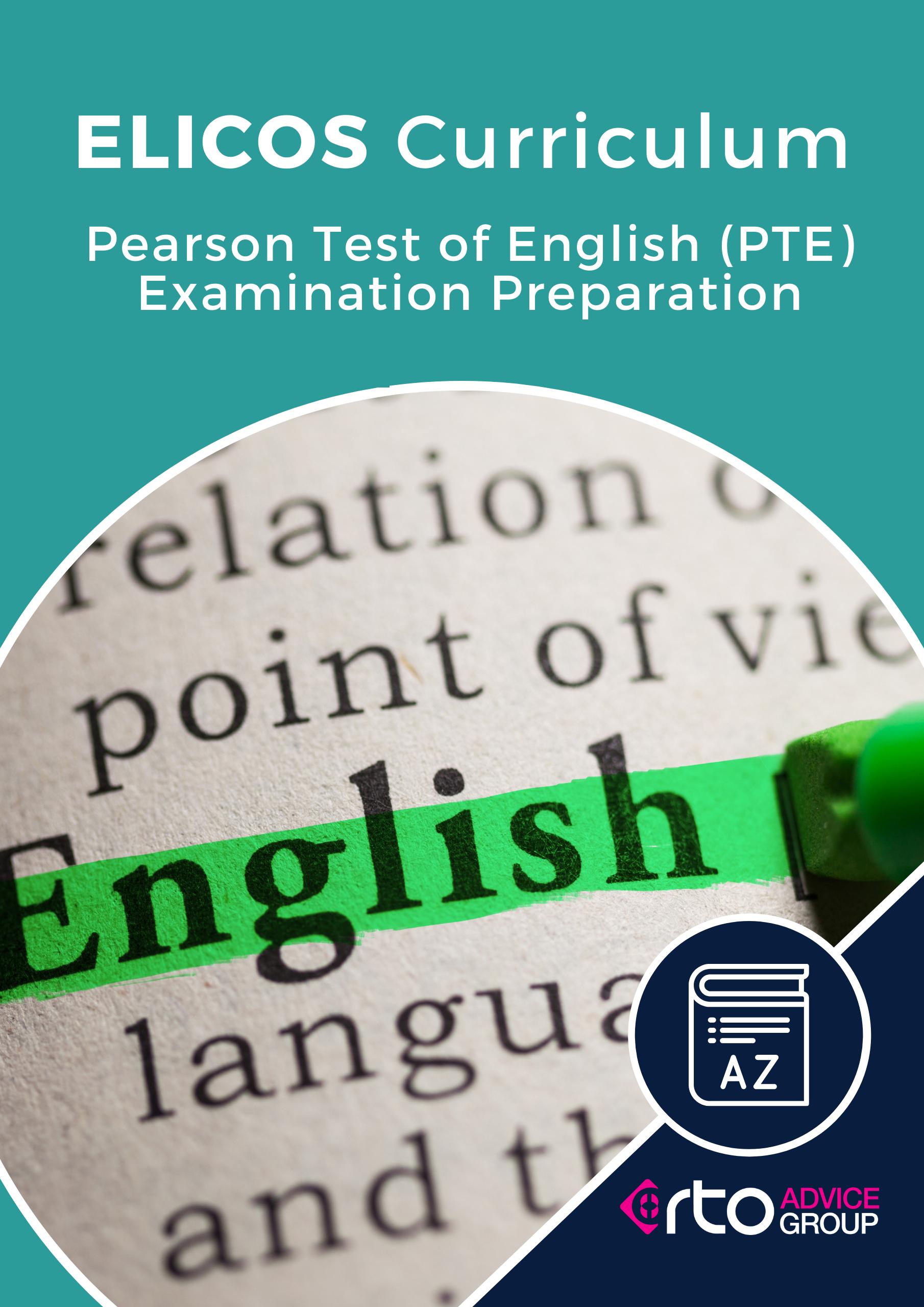 ELICOS PTE Examination Preparation