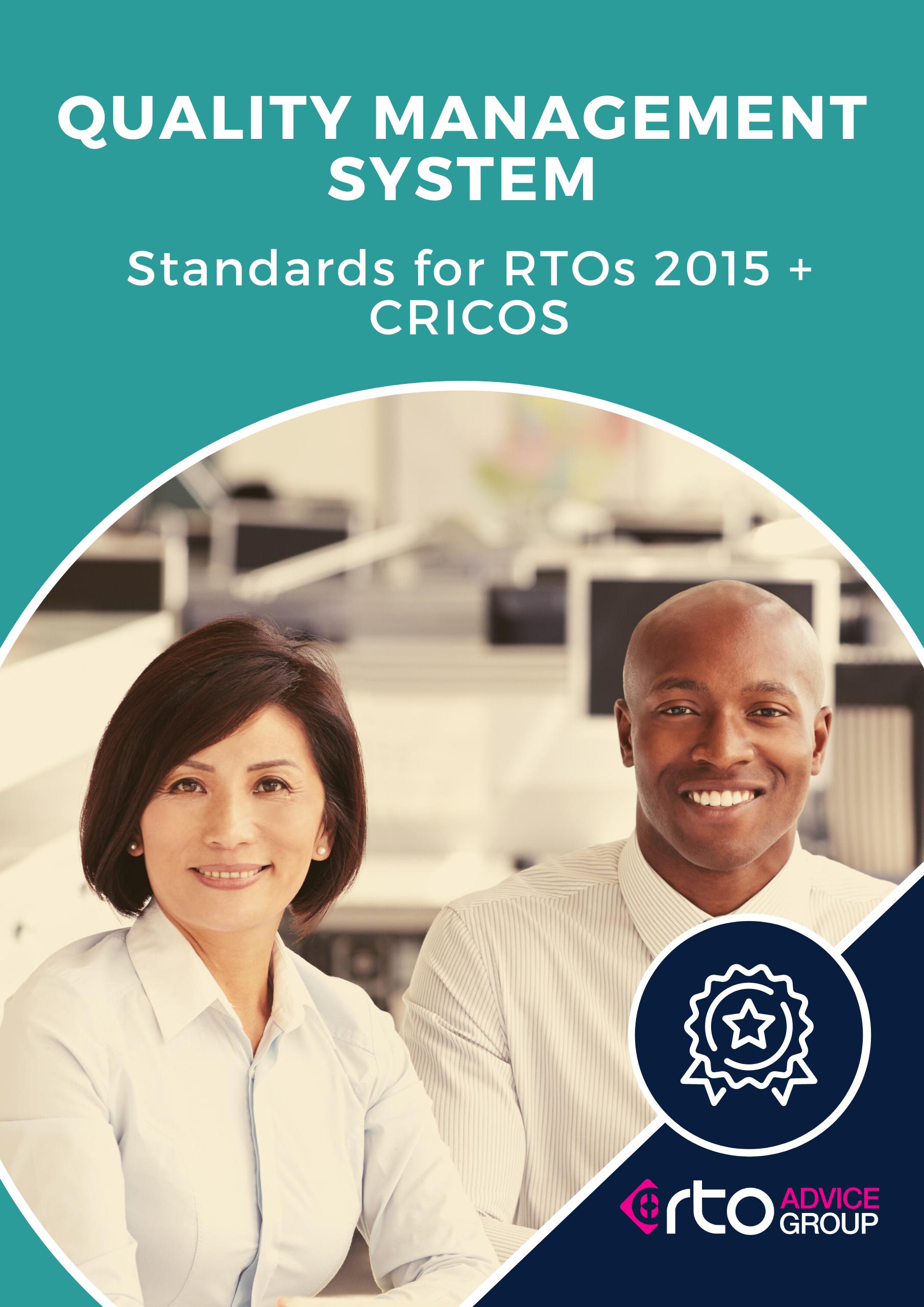 Quality Management System Standards for RTOs CRICOS