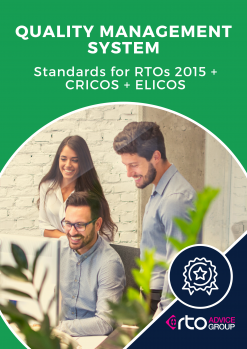 Quality Management System Standards for RTOs ELICOS CRICOS