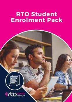 RTO Student Enrolment Pack