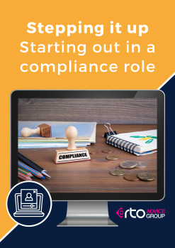 Stepping it up – Starting out in a compliance role